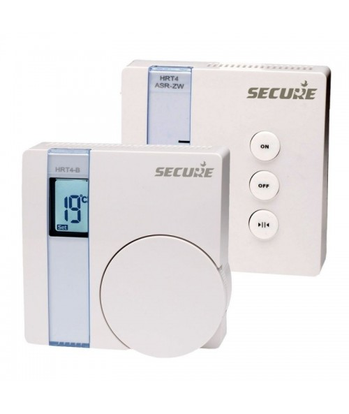 Thermostat and Receiver communicate using Z-Wave
