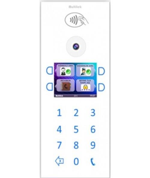 IP INTERCOM WHITE COLOR DOOR PANEL